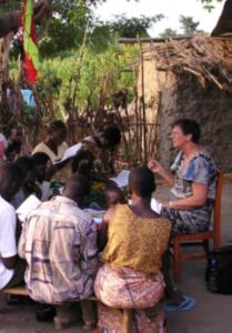 Eftermiddagsmøde: Ingrid Markussen - Safari - en rejse i Guds plan @ Laden Vetterslev Kirke